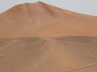 The Taklamakan (also spelled Taklimakan) Desert.