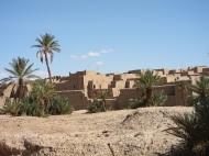example of Moroccan Adobe Ksar
