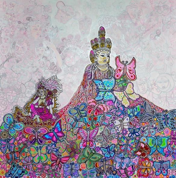 Butterflies Buddha