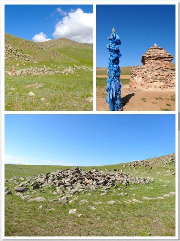 mongolian burial mounds