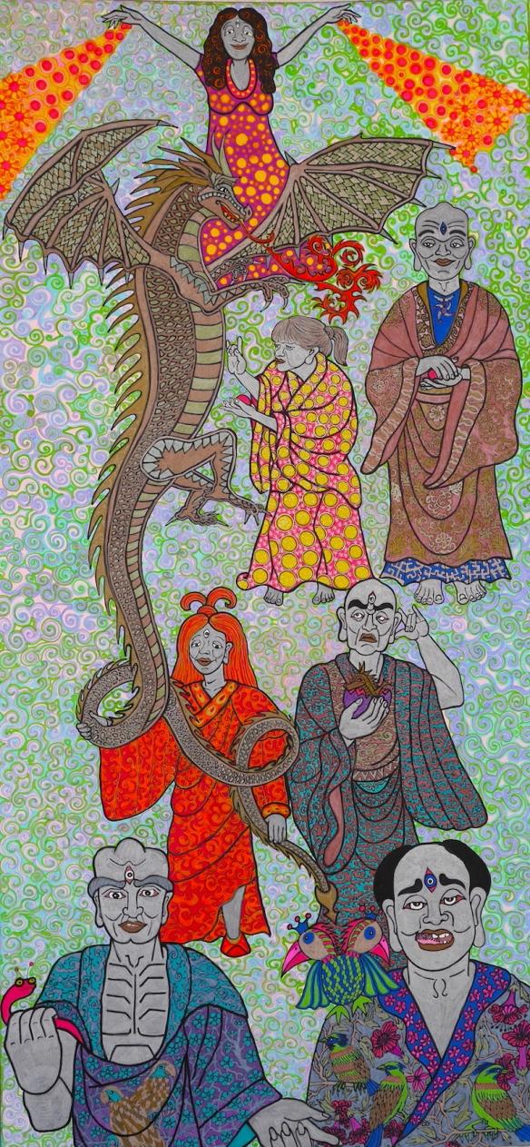 dragon and bird arahats